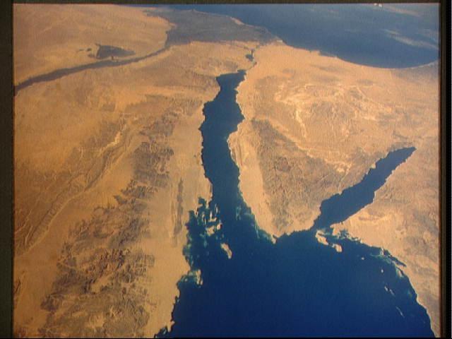 חצי האי סיני: המפרידה בין ישראל ומצרים