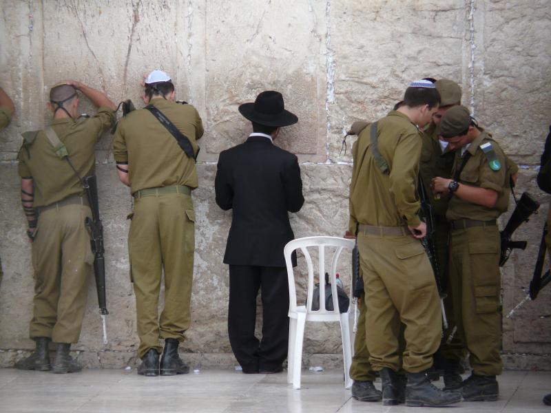 כל החברה הישראלית שנפגשת קרוב למקום הקדוש...