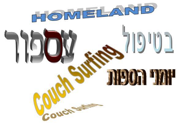 סדרות ישראליות נכרות בכל העולם...